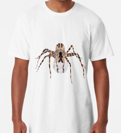 Spider with an Egg Sack Long T-Shirt