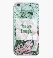 You Are Enough Desing iPhone Case