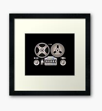 Tape Recorder Retro Magnetophon  Framed Print