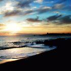 Sunrise over Bass Strait - Tasmania  by cjcphotography