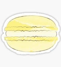 Yellow Macaron Sticker - Lemon Macaroon Sticker