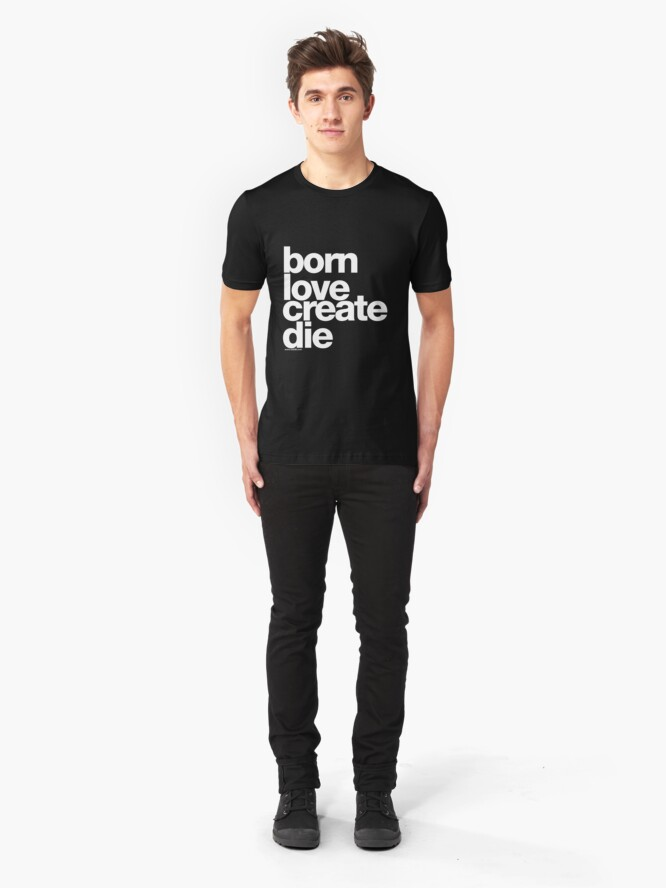 Alternate view of Rebirth clean Slim Fit T-Shirt