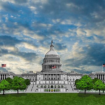 United States Capitol Building by oz10