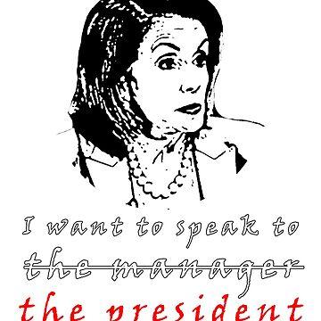 Pelosi Demokraten Kongress von WolflandShirts