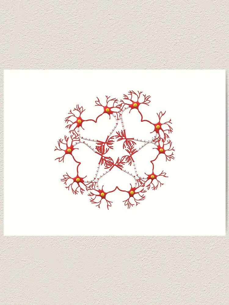 Alternate view of Circle of Love Art Print