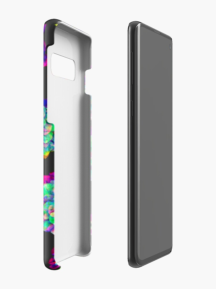 Alternate view of Glitched Succulents Case & Skin for Samsung Galaxy