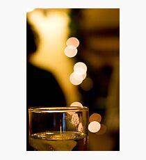 bokeh drink Photographic Print
