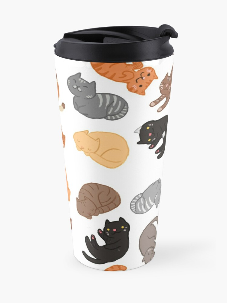 Alternate view of Cats and Cats and Cats Travel Mug