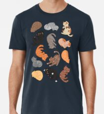 Cats and Cats and Cats Men's Premium T-Shirt