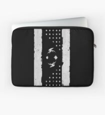Faded Friendship (white, no text) Laptop Sleeve