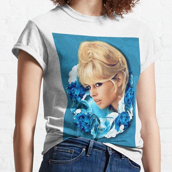 Pivoine bardot T-shirt classique