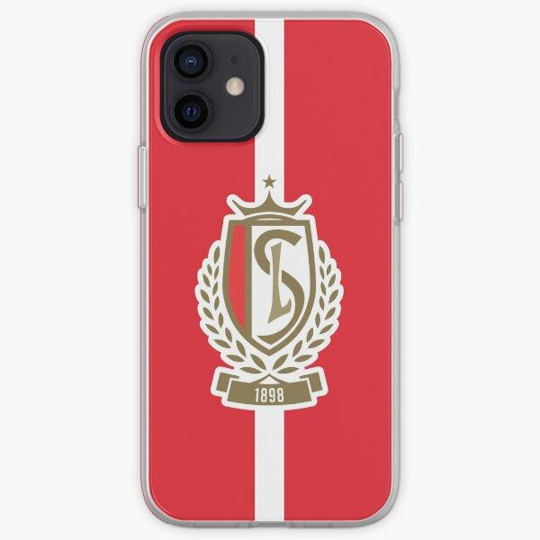 Standard de Liège - Red & White iPhone Soft Case