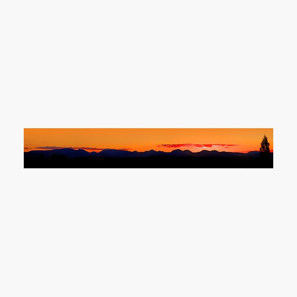 Warrumbungles, New South Wales. Photographic Print