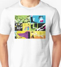 """""""Don't Lick the Dog"""" poster Unisex T-Shirt"""