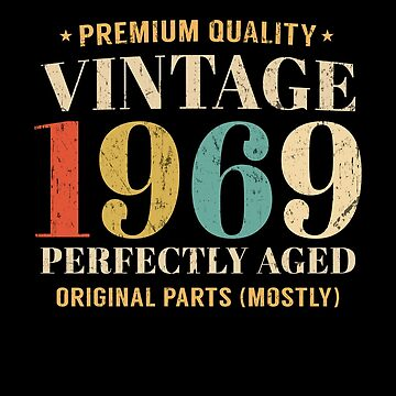 Vintage Since 1969 Limited Edition 50th Birthday Gift by SpecialtyGifts