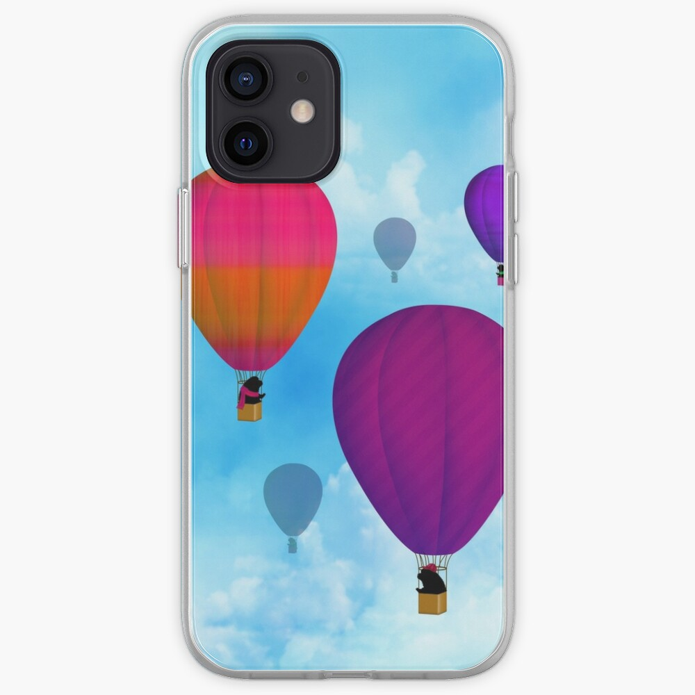 Hot Air Newfies iPhone Case & Cover