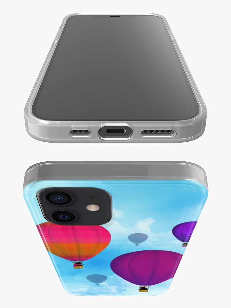 Alternate view of Hot Air Newfies iPhone Case & Cover