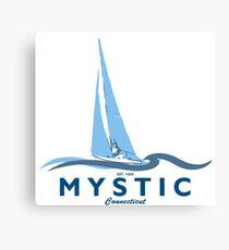 Mystic - Connecticut. Canvas Print