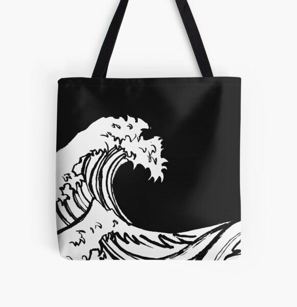 Ukiyo-e All Over Print Tote Bag