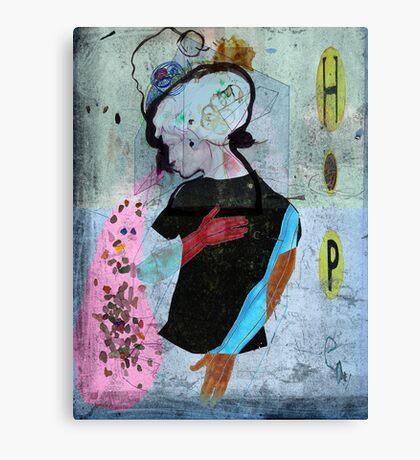 ce que je sais de ses larmes... what i do know about her tears... Canvas Print