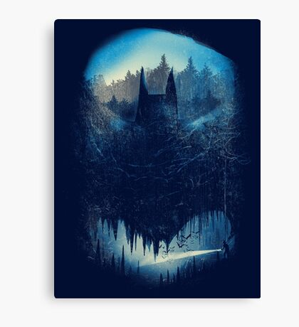batcaving Canvas Print