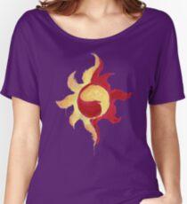 Sunset Shimmer Paintsplatter Women's Relaxed Fit T-Shirt