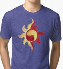 Sunset Shimmer Paintsplatter Tri-blend T-Shirt