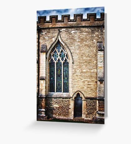 Window and Door Greeting Card