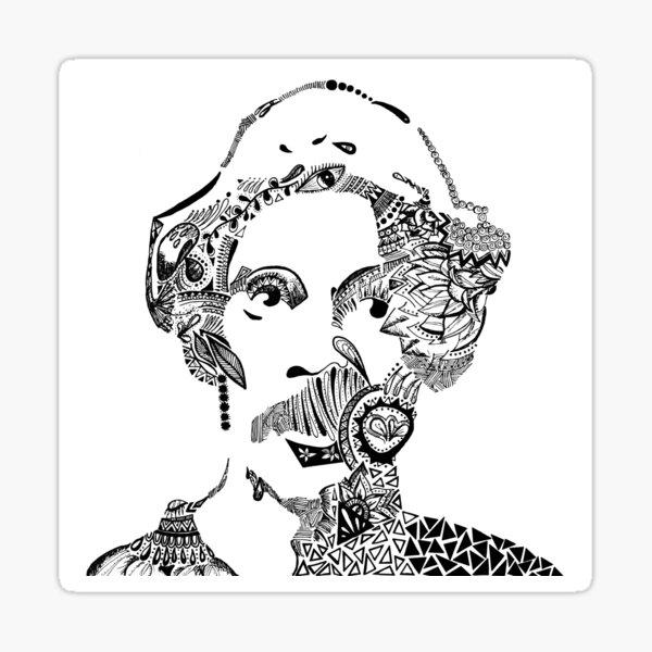 Seu Madruga Maori Sticker