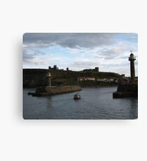 Harbour Home Canvas Print