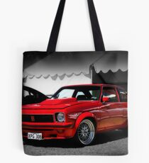 Red Hot Torry Tote Bag