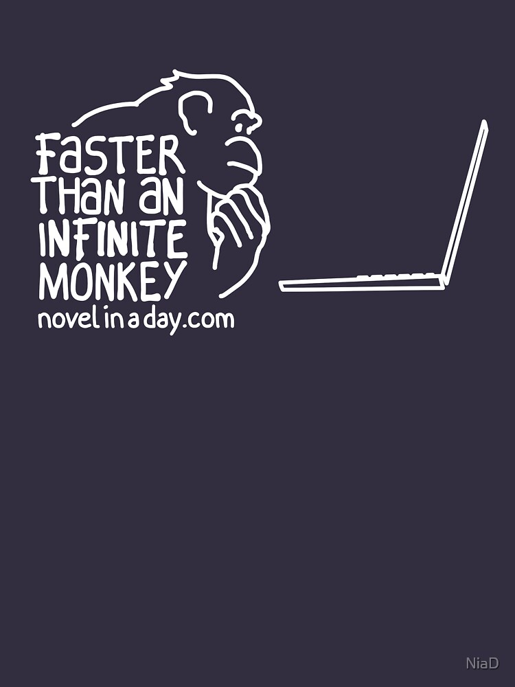 Faster Than An Infinite Monkey by NiaD