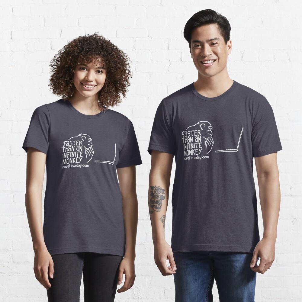 Faster Than An Infinite Monkey Essential T-Shirt