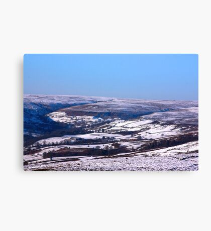 Farndale in Winter Canvas Print