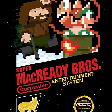 Super MacReady Bros. by mikehandyart