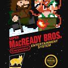 Super MacReady Bros. by mikehandyart