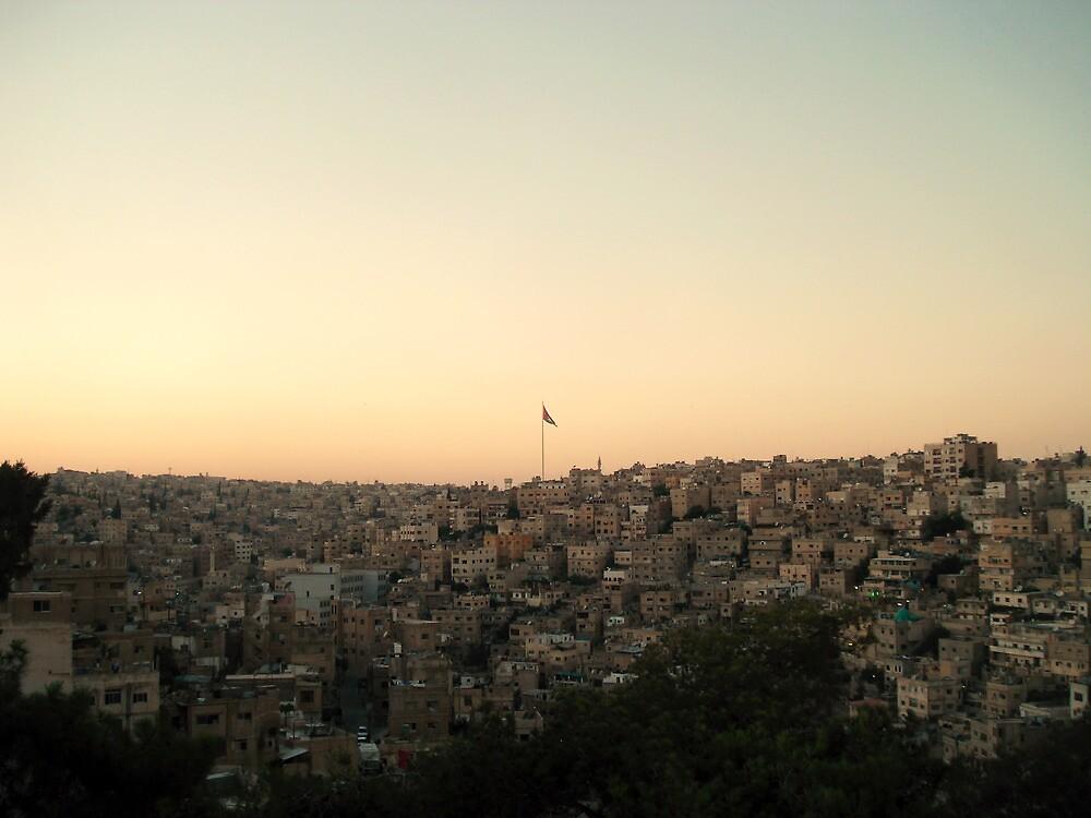 Among the Seven Hills - Amman, Jordan by bengranlund