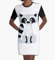 Skunk Graphic T-Shirt Dress