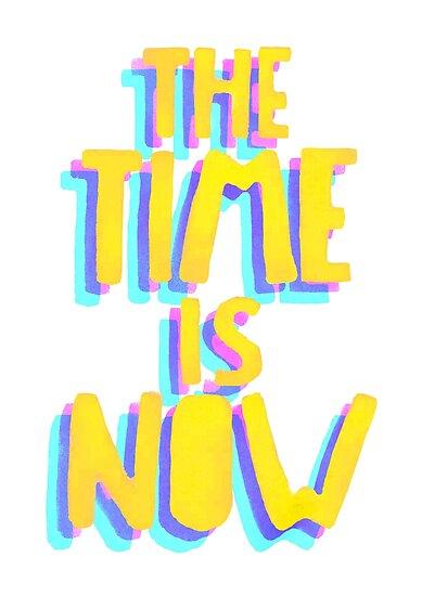 Die Zeit ist jetzt Logo von volttrash