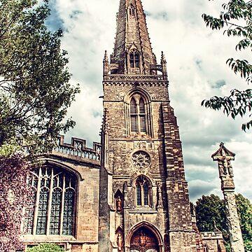 St Marys Church Higham Ferrers by InspiraImage