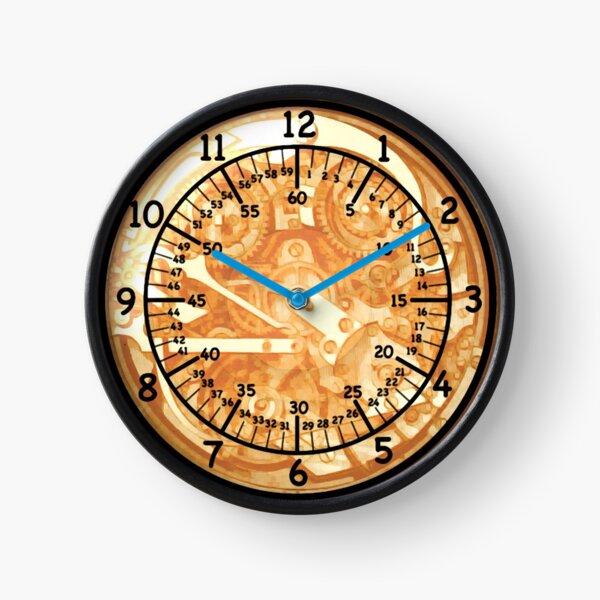 It's a clock. Clock