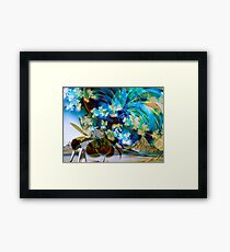 Bay of Magical Wonders  Framed Print