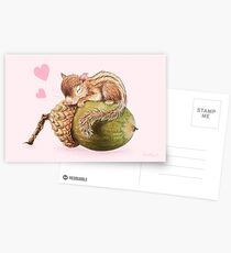 Nap time by Maria Tiqwah Postcards