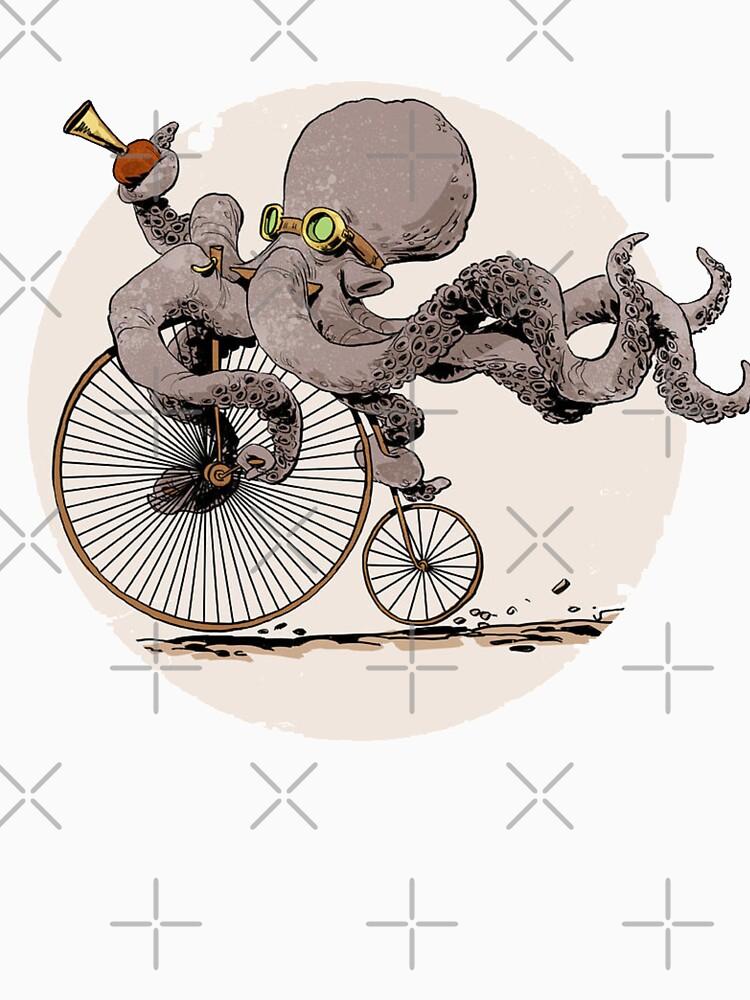 Radfahren Oktopus von dadutbit