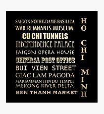 Ho Chi Minh Famous Landmarks Photographic Print