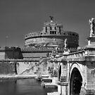 Castel Sant'Angelo, Rome by Rodney Johnson