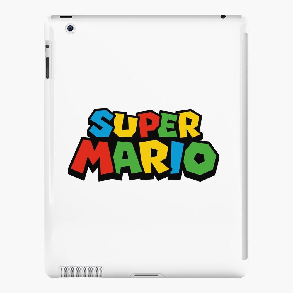 Super Mario Logo Funda y vinilo para iPad