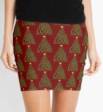 Spread Christmas Cheer Mini Skirt