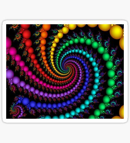 Rainbow Whirlpool Sticker