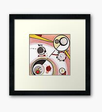 Mechanics of Modernity, Ink drawing Framed Print